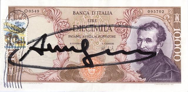 Andy Warhol, 'Ten thousand Lire', 1984, Bertolami Fine Arts