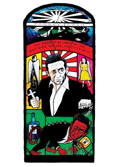 Neal Fox, 'Johnny Cash', 2011, Cob