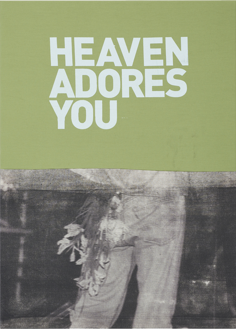 , 'Untitled (Heaven adores you),' 2016, Museum Dhondt-Dhaenens