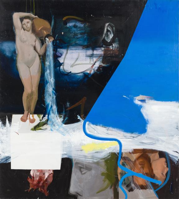 Patrícia Kaliczka, 'The Dream of the Idea is the Death of my Heart --- Az idea álma, a szívem halála', 2019, Painting, Oil on canvas      olaj, vászon, VILTIN Gallery