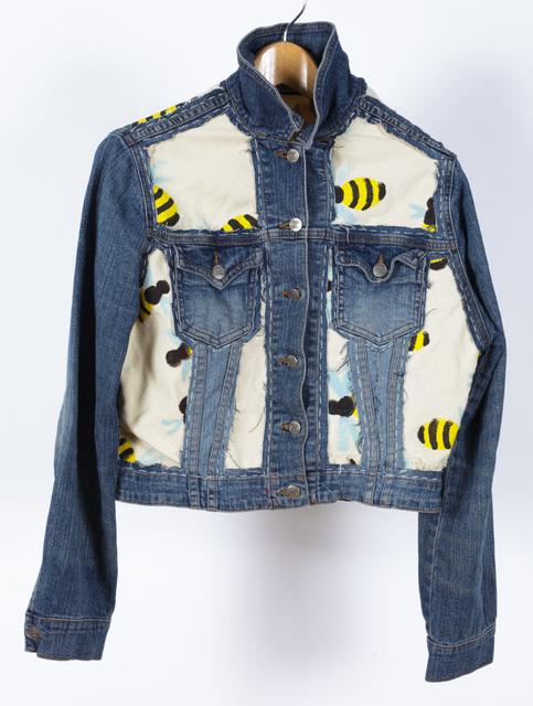 , 'Untitled (Bees on Jean Jacket),' 2018, Creativity Explored