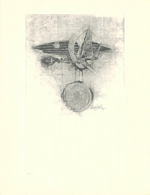 Johnny Friedlaender, 'Trois oiseaux I', 1950, Sylvan Cole Gallery