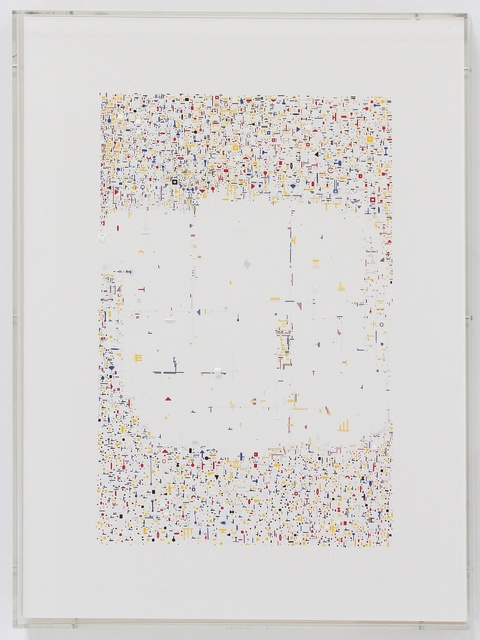 , 'PAPER DRAWING (East Colors),' 2015, Hosfelt Gallery