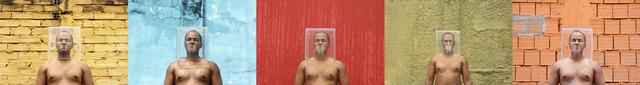 , 'Corpo em Quadrado C,' 2012, Sé Galeria