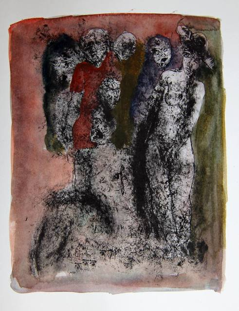 , 'Untitled (figures in darkness),' Undated, The Noble Sage Collection