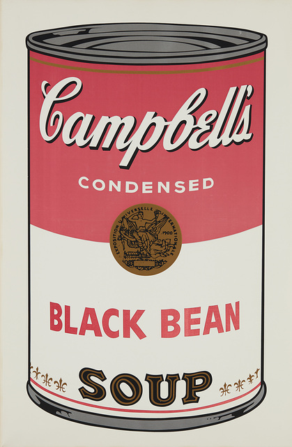 Andy Warhol, 'Black Bean, from Campbell's Soup I', 1968, Phillips