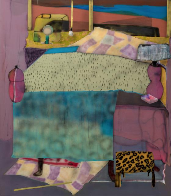 , 'Motelbed,' 2018, Ruttkowski;68