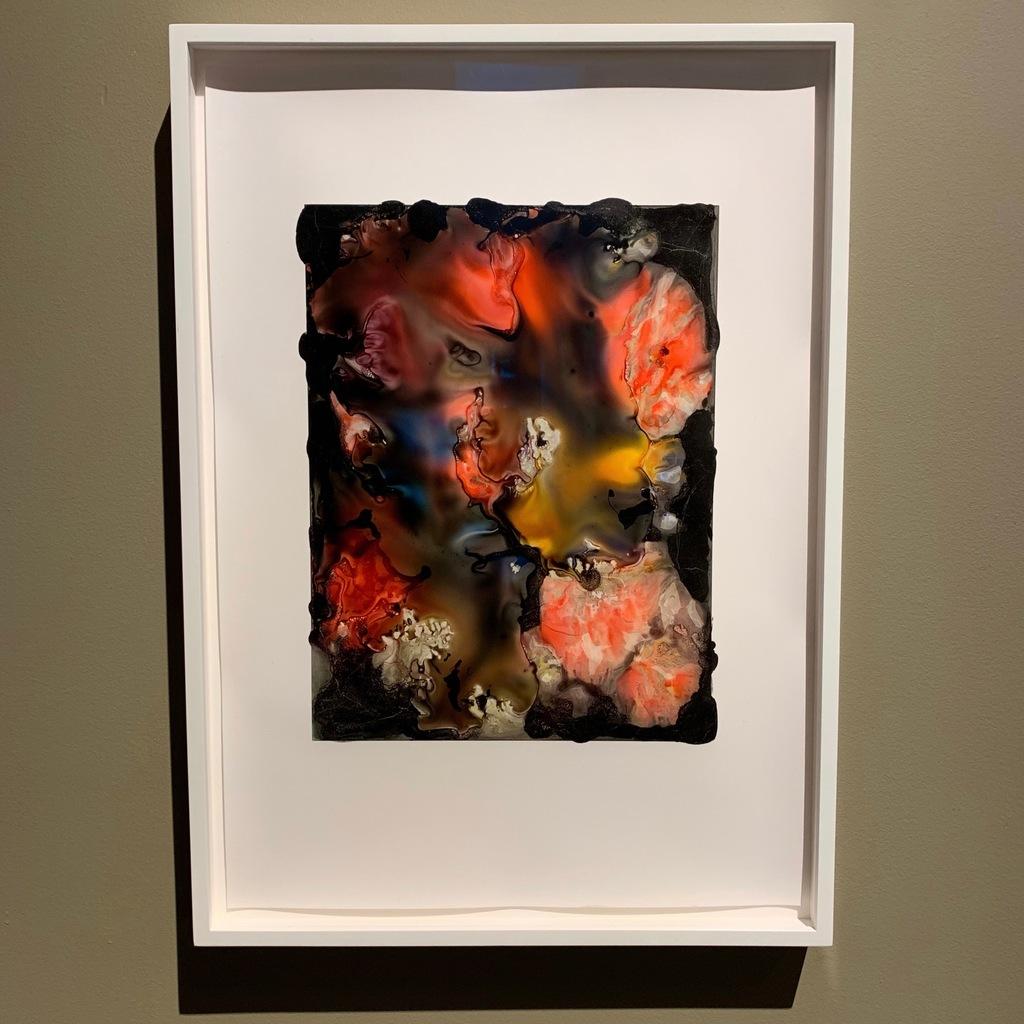 Joachim Schulz's Blumenstrauss in Glasvase, Archival Pigment Print, Unique Von Lintel Gallery, Los Angeles