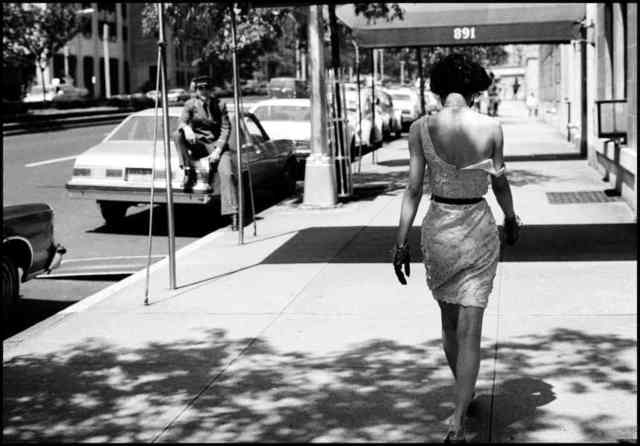 , 'Wendy Whitelaw on Park Ave. NYC,' 1981, Peter Fetterman Gallery