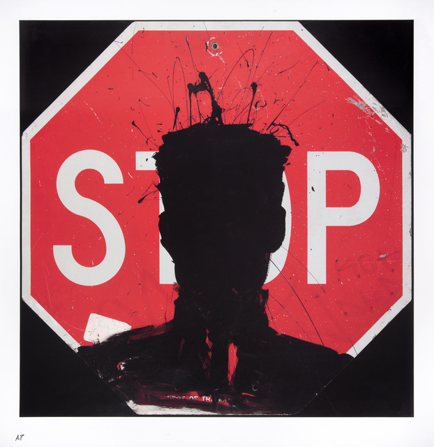 Richard Hambleton, 'Stop Sign', 2018, Tate Ward Auctions
