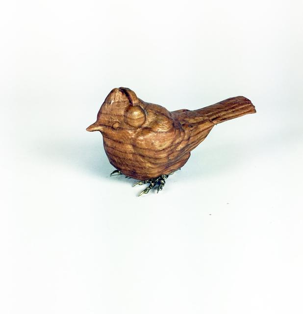 , 'Cherry Beanie Bird 3,' 2018, West Branch Gallery