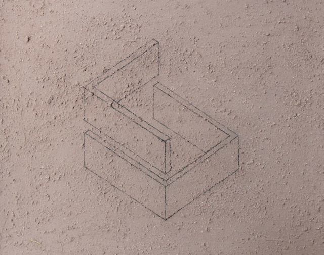 Ximena Garrido-Lecca, 'Arquitectura del Humo (Boceto II)', 2015, 80M2 Livia Benavides