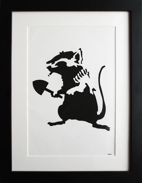Banksy, 'Rat Stencil ', 2002, EHC Fine Art