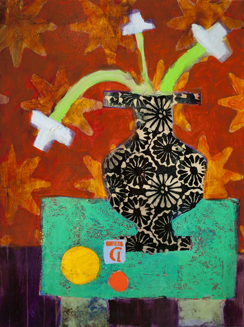 , 'Still Life Yellow Ball,' 2013, Kathryn Markel Fine Arts