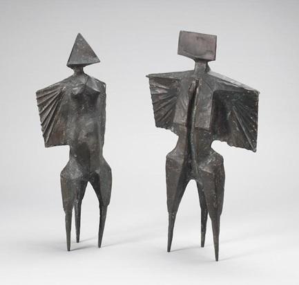 , 'Two Winged Figures II,' 1976, Osborne Samuel