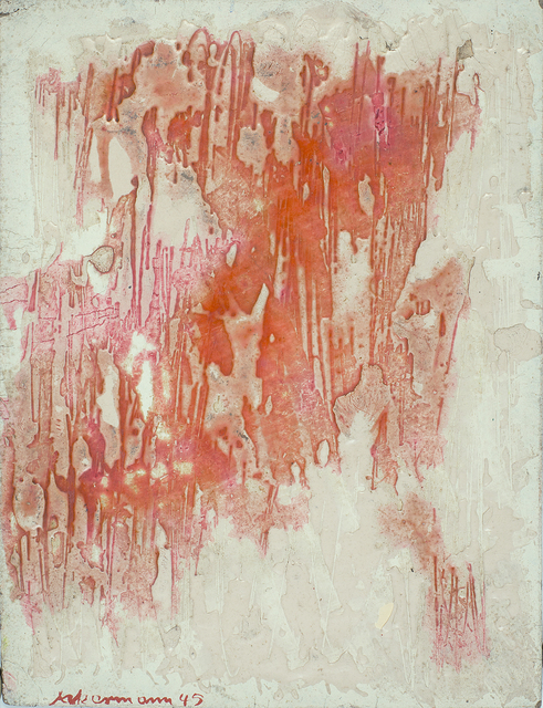, 'without title,' 1945, Galerie Doebele