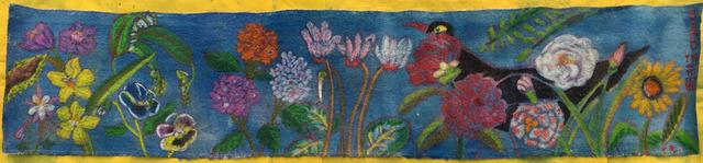 , 'Bird in garden (blue),' 2016, Gallery Mac