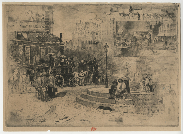 , 'La Place Pigalle en 1878,' 1878, Childs Gallery