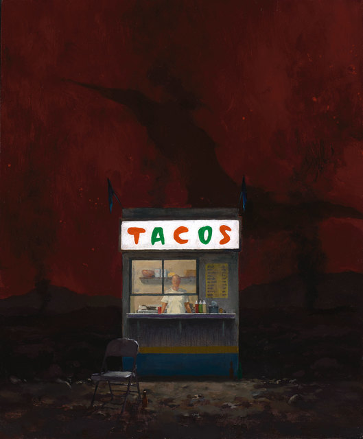 , 'Taco Stand in Hell,' 2017, ARCADIA CONTEMPORARY