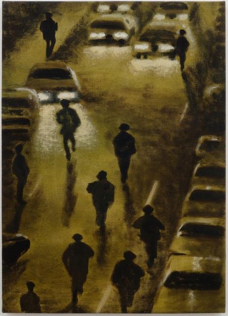 Jane Dickson, 'Cops in Headlights', 1991, James Fuentes