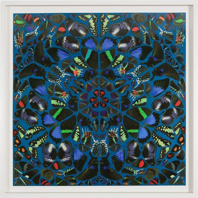 , 'Psalm - Miserere mei Deus (non-glitter),' 2015, Samuel Owen Gallery