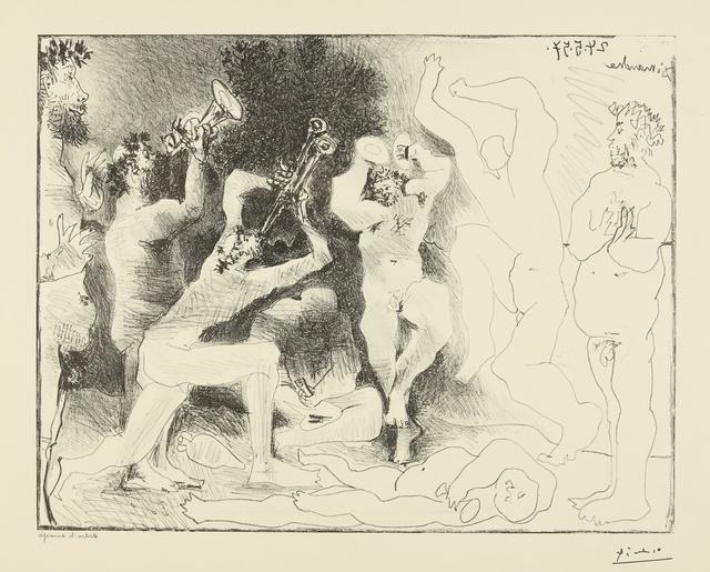 Pablo Picasso, 'La Danse des faunes (B. 830; M. 291)', 1957, Print, Lithograph, Sotheby's