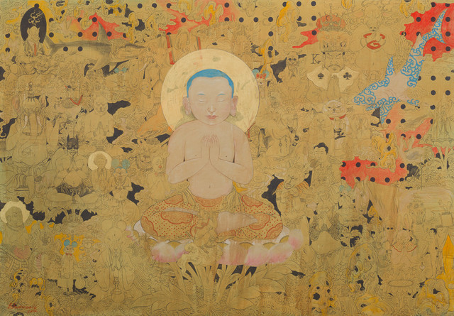 , 'Little Budda,' 2016, Jack Bell Gallery