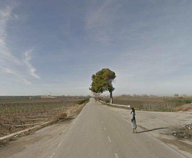 , 'Strada Provinciale 3, Apulia, Italy,' 2013, Carroll / Fletcher