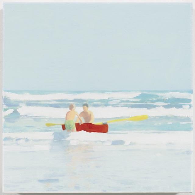 , 'Red Boat,' 2016, Reynolds Gallery