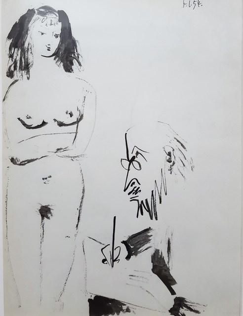 Pablo Picasso, 'La Comedie Humaine', 1954, Graves International Art