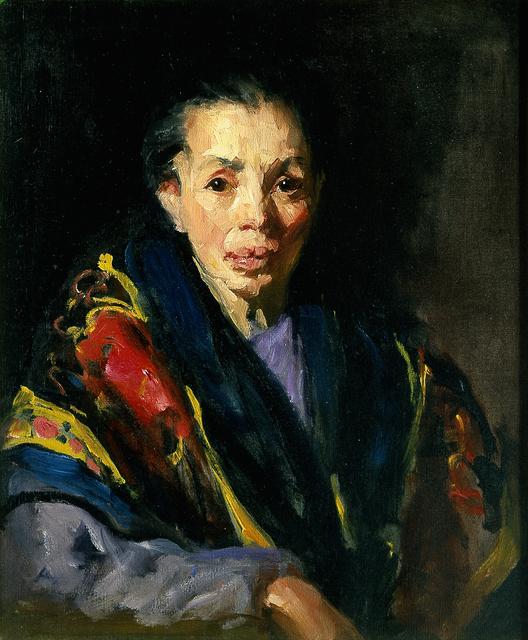 Robert Henri, 'The Old Model (Old Spanish Woman)', 1911, Blanton Museum of Art
