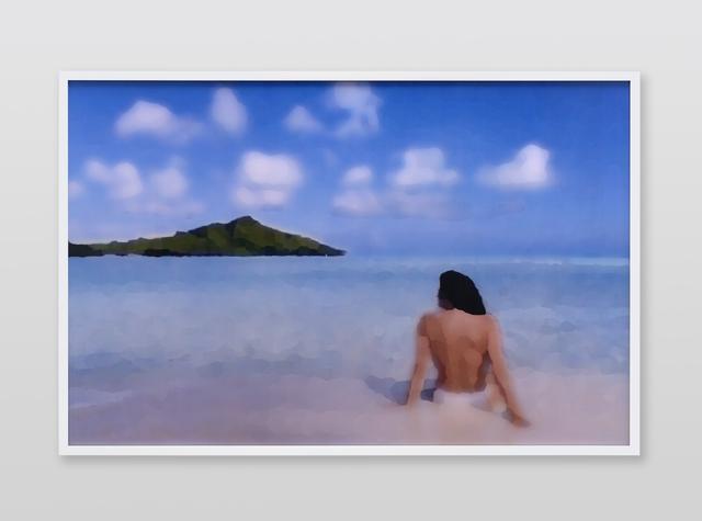 , 'Jennifer in Paradise, Palet Knife, CS6 lenticular series,' 2015, Future Gallery