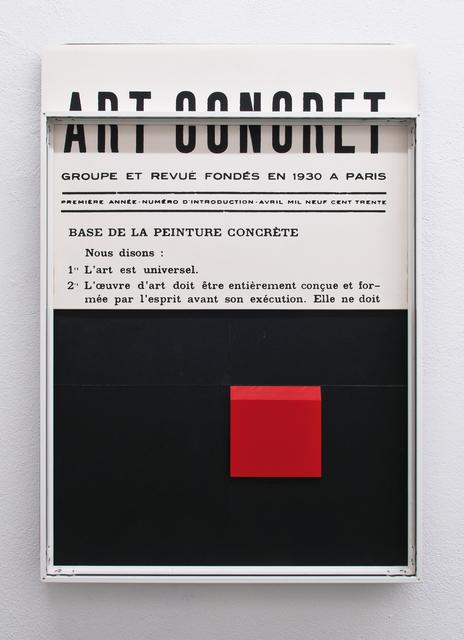 , 'art concret,' 2015, dr. julius | ap
