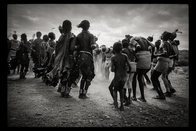 , 'Dance Hamar, Southern Ethiopia,' 1968, Galerie Julian Sander