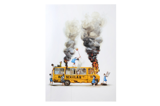 Ernest Zacharevic, 'Rage Against The Machine', 2018, Chiswick Auctions
