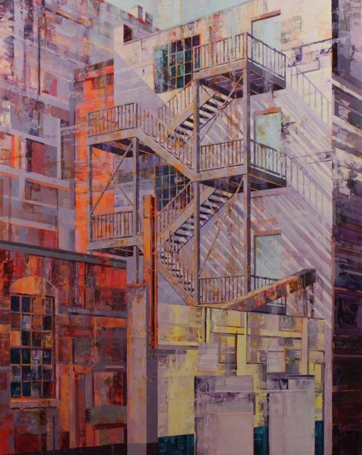 , 'Ascend/Descend II,' 2018, J. Cacciola Gallery