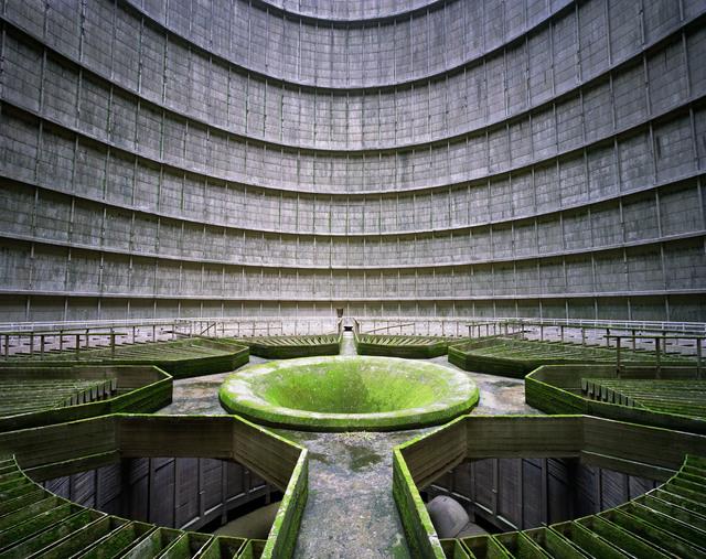, 'Cooling Tower, Power Station, Monceau-sur-Sambre, Belgium,' 2011, Tristan Hoare