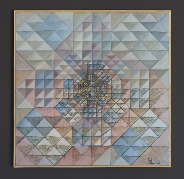 , 'Squares and triangles,' 1976, Jecza Gallery