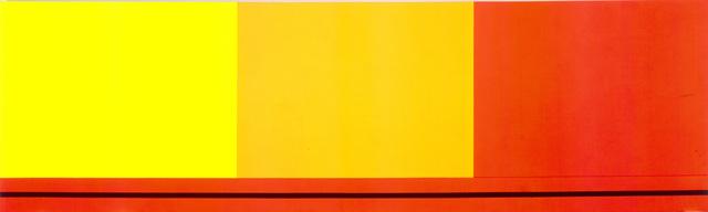 Peter Halley, 'Three Sectors', 1986, Galerie Andrea Caratsch