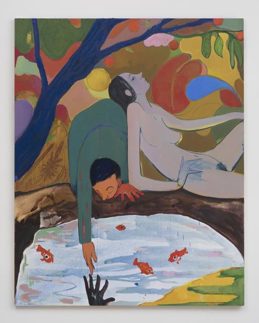 Sanya Kantarovsky, 'Wet Hands', 2015, Luhring Augustine