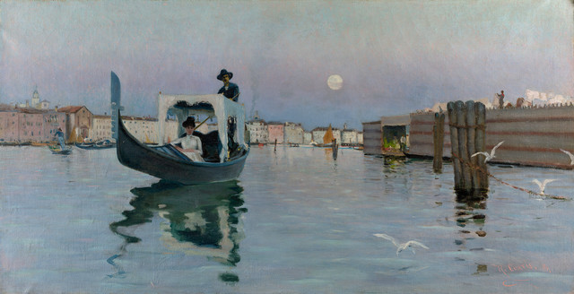 , 'Return from the Lido,' 1884, Isabella Stewart Gardner Museum