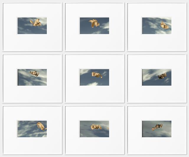 , 'Vienna Sky Scans (2019-03-07, 14:49—15:13 CET),' 2019, Kristin Hjellegjerde Gallery