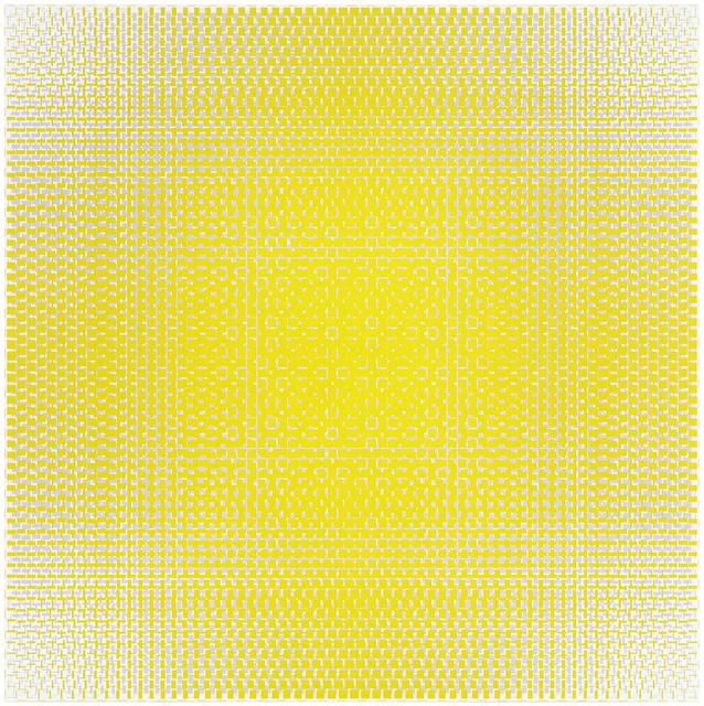 , 'pale green-lilac,' 2017, Galerie Denise René