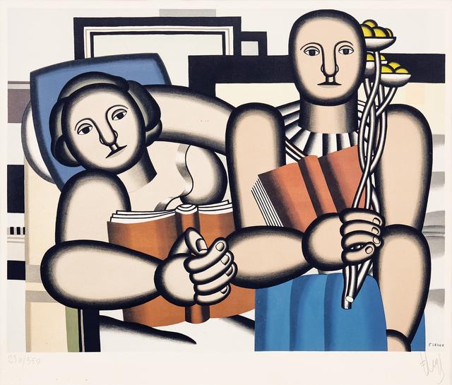 Fernand Léger, 'La Lecture (The Reader)', ca. 1953, Masterworks Fine Art