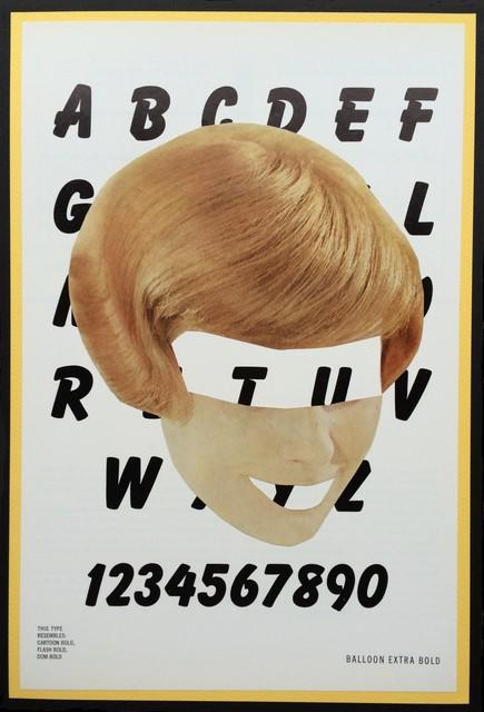, 'Typeface, Ballon Extra Bold,' 2016, frosch&portmann