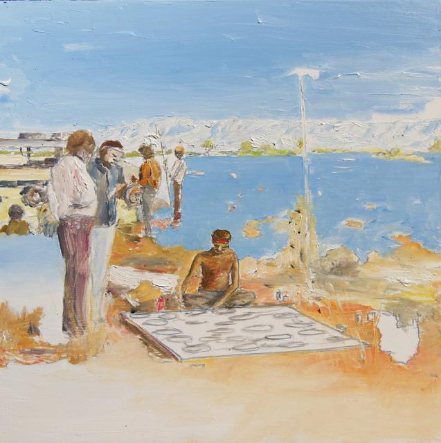 , 'West Camp,' 2016, Dominik Mersch Gallery