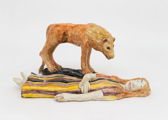 Klara Kristalova, 'Watching the sleeping woman (after Rosseau)', 2017, Perrotin
