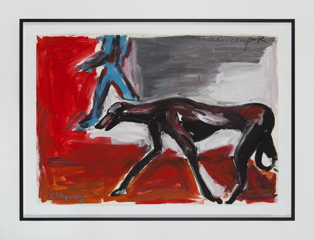 , 'Dog-NY,' 1982, Eleni Koroneou