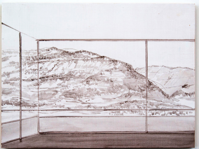 Daniele Genadry, 'Familiar Mountains (Blue)', 2019, In Situ - Fabienne Leclerc