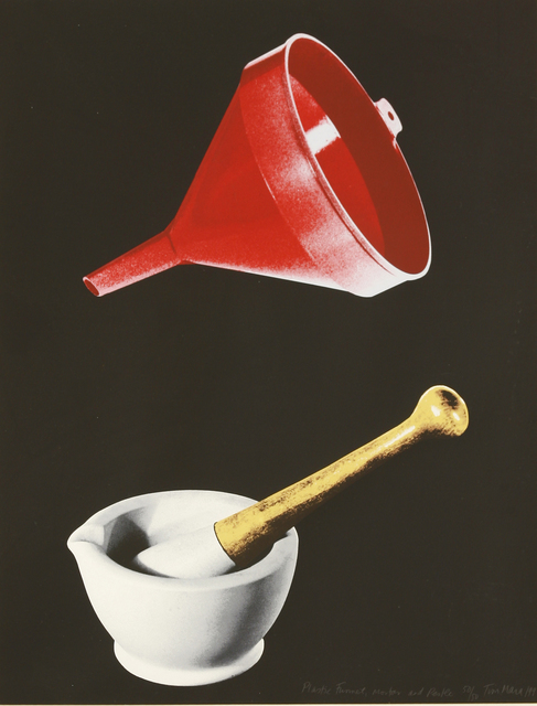 Tim Mara, 'Plastic Funnel, Mortar And Pestle', 1992, Sworders